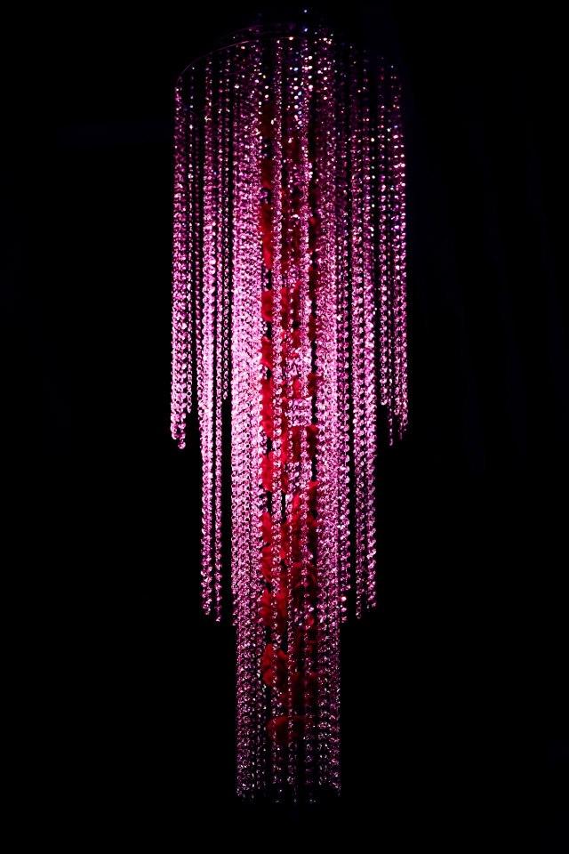 Waterval vol met Swarovski kristal