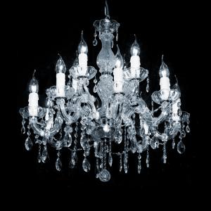 Maria Theresa 12-arms met Swarovski kristal