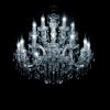 Maria Theresa kroonluchter met Italiaans Glaskristal of origineel bewerkt met Swarovski kristal speciaal voor uw interieur