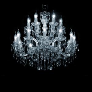 Maria Theresa 18-arms met Swarovski kristal