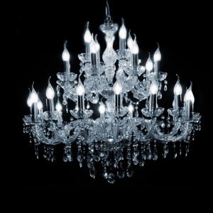 Maria Theresa 28-arms met Swarovski kristal