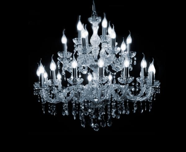 Maria Theresa kroonluchter met Italiaans Glaskristal of origineel bewerkt met Swarovski kristallen speciaal voor uw interieur