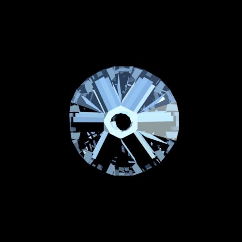 Swarovski kristallen cone kraal