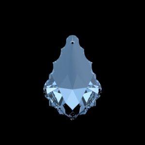 Swarovski Spectra Eikenblad kristal 63x43mm