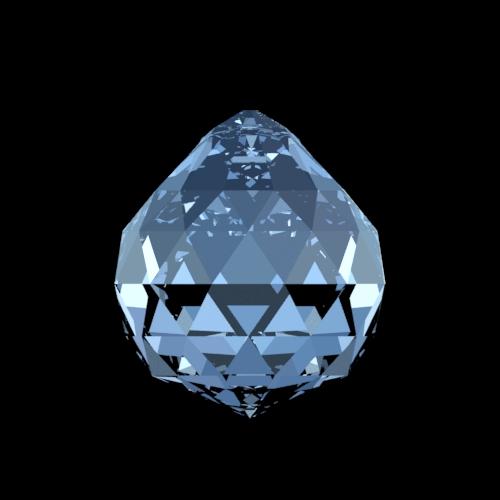 Swarovski Spectra kristallen bol