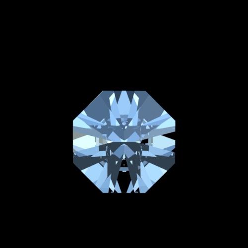 Swarovski Spectra Octagon kristal