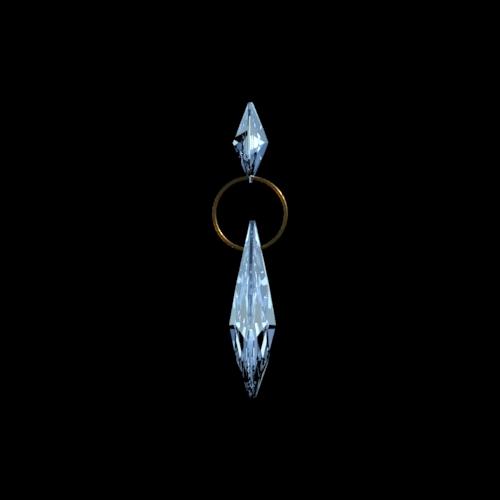 Amandel & Octagon Swarovski Spectra Kristal