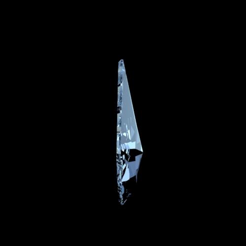 Swarovski Spectra eikenblad kristal