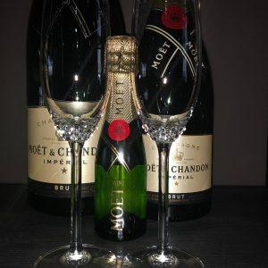 Crystallized Champagneglazen