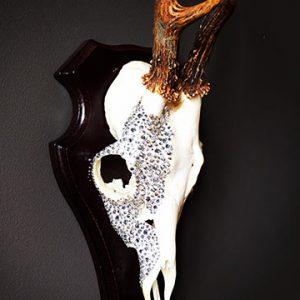Swarovski Crystallized skull